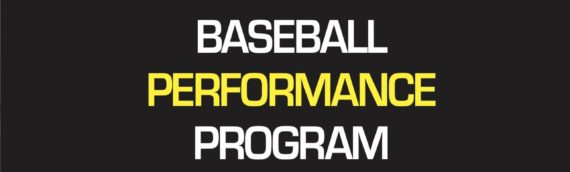 Baseball Performance Programs